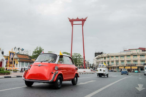 International Microcars Show on H.M. King Vajiralongkorn's 66th Birthday Anniversary