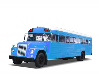 Schoolbus (USA) blue