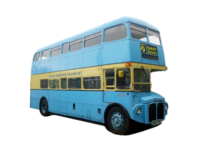 London Bus ( Routemaster) Blue